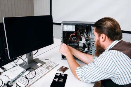 Ремонт компьютеров и ноутбуков на дому с гарантией в Барнауле