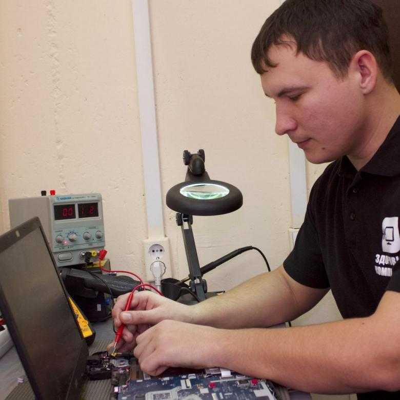 Чистка, ремонт и настройка компьютеров