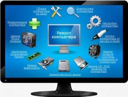 Ремонт ПК и компьютеров в офисе и дома