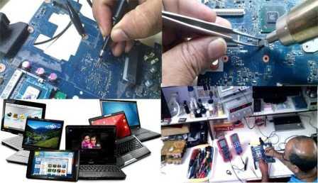 Ремонт компьютеров, чистка после залития
