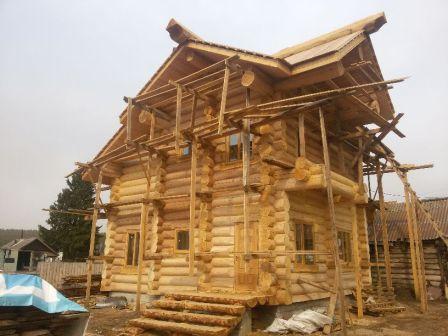 Рубка срубов домов и бань Монтаж крыш