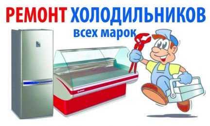 Ремонт стиральных и холодильников