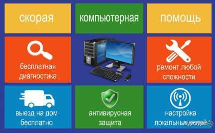 Ремонт компьютеров на дому. Бесплатный выезд