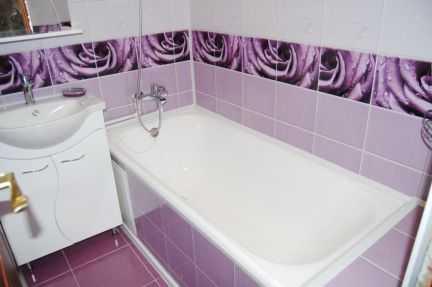 Быстрый ремонт ванной панелями. Эконом. Под сдачу