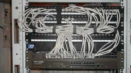 Монтаж и настройка локальных и беспроводных сетей