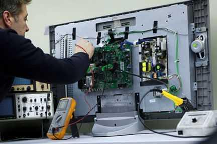 Ремонт и диагностика ЖК телевизоров (LCD, LED)