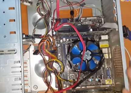 Ремонт компьютера. Установка Виндовс
