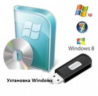 Установка Windows и программ на дому