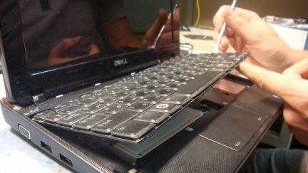 Замена матрицы (экрана) клавиатуры ноутбука