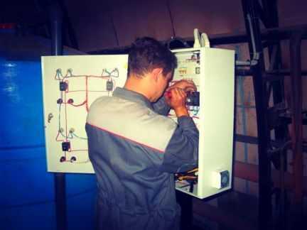 Электрик на дом электромонтажные работы услуги
