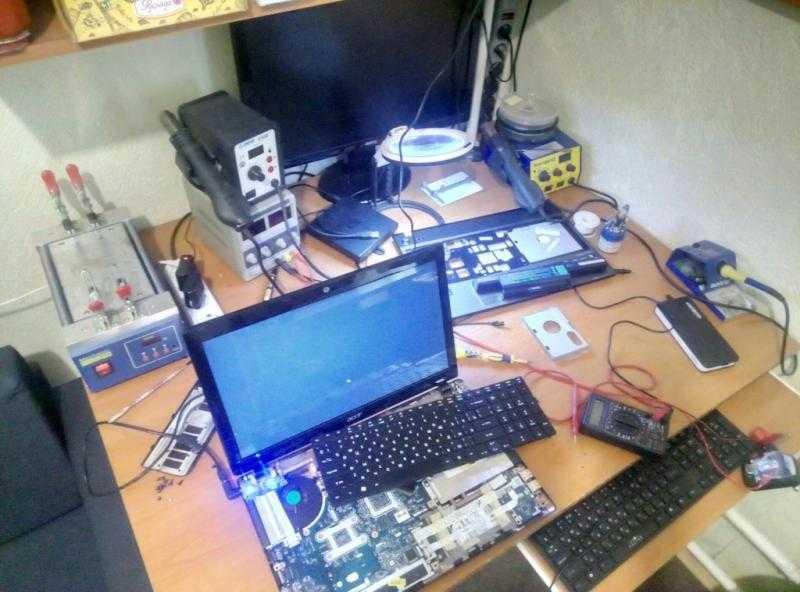Ремонт компьютеров и ноутбуков Работаю на себя. Недорого