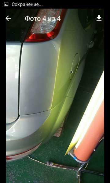 Удаление вмятин на кузове с сохранением краски