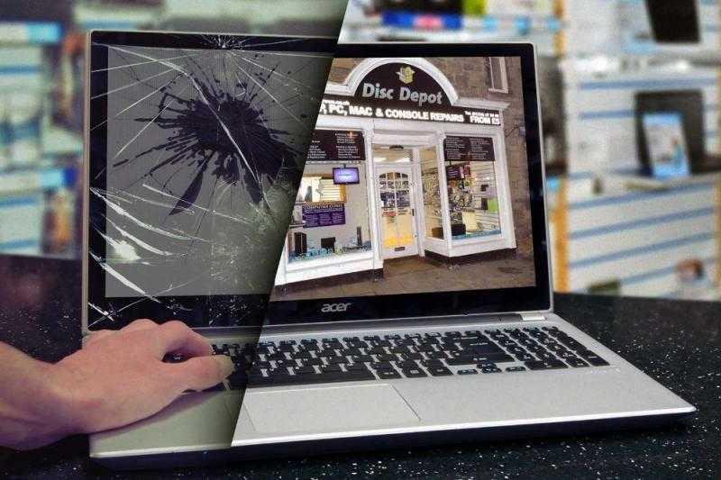 Замена матрицы (дисплея) на ноутбуке
