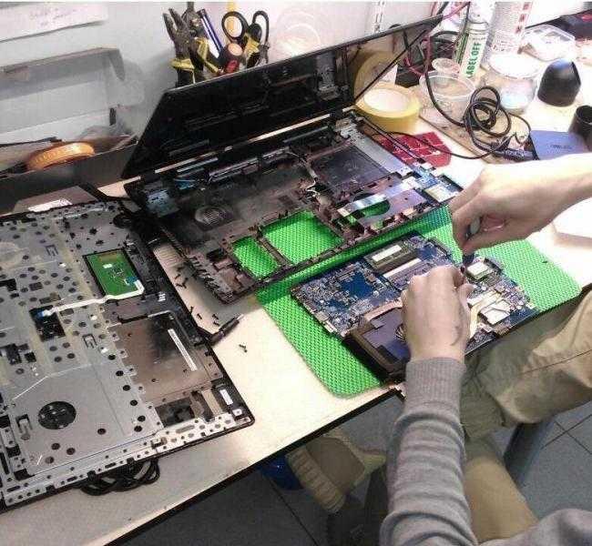 Ремонт компьютеров на дому. Ремонт ноутбуков.